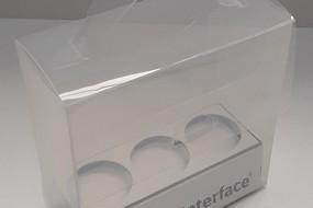 Transparante presentatie koffertje