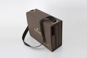 Luxe presentatie koffer op maat